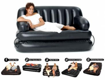 Jual SOFA BED 5 IN 1 Kasur Angin murah