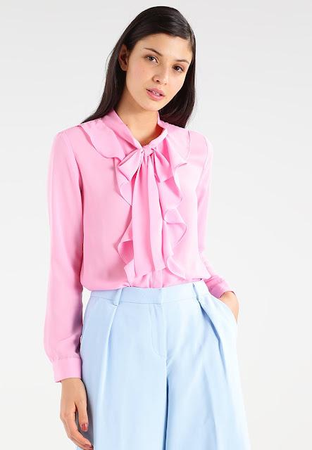 look rosa azzurro carta da zucchero