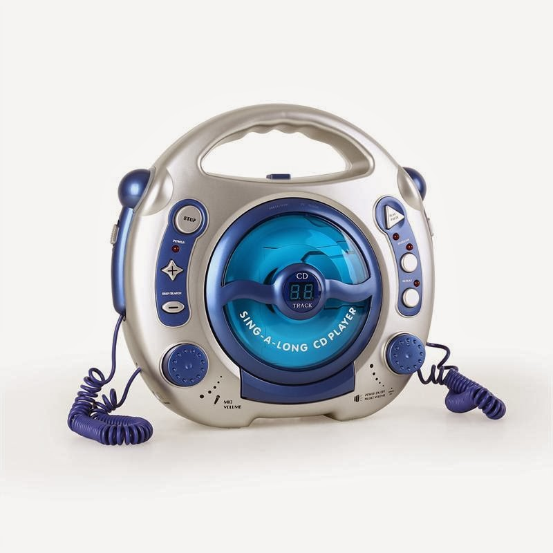 WIN a Sing-A-Long Children's CD Player from HiFi-Tower