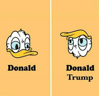 Pato Donald, Donald Trump