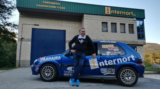 Francisco Javier Villar vuelve a la competición en la 18ª Subida A Escusa