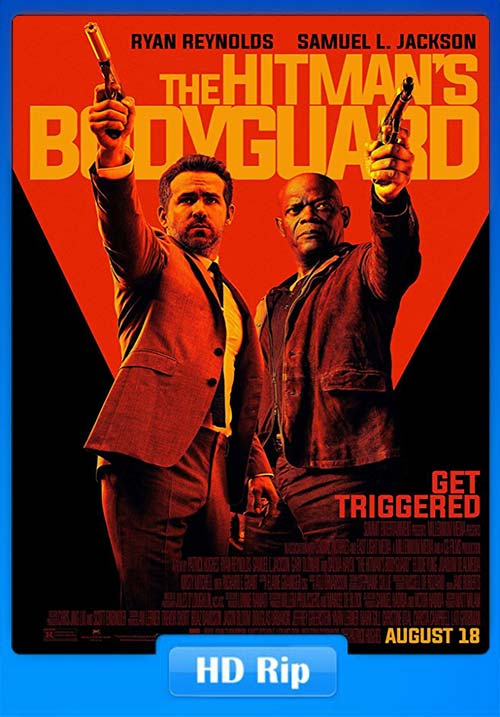 The Hitmans Bodyguard 2017 720p WEBRip Dual Audio Hindi ESub | 480p | HEVC Poster