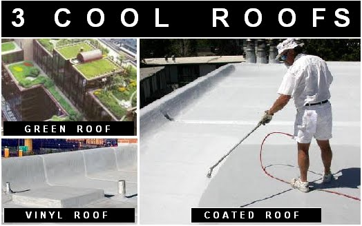 The Green Market Oracle Three Types Of Cool Roofs