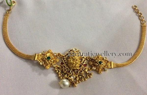 2 in1 Lakshmi Kundan Armband