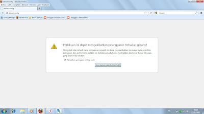 Mengaktifkan Fitur Simpan Tab Saat Mozilla di Tutup/Close