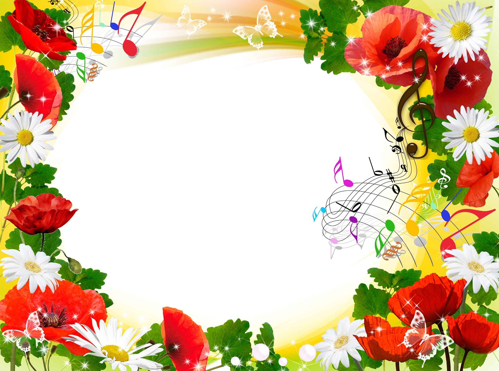 flowers png frame | flowers frame