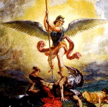 Pintura de San Miguel de Arcángel