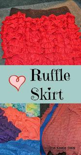 DIY Ruffle Skirt Instructions