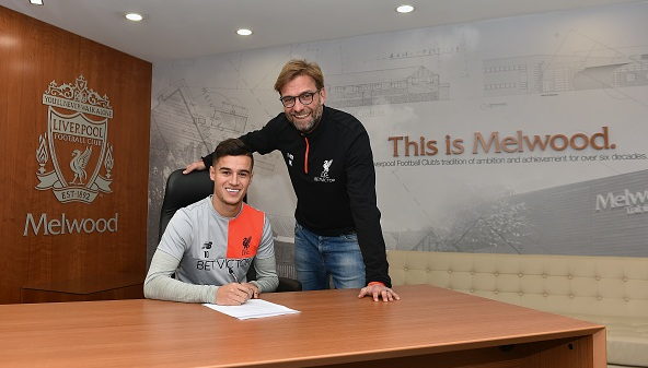 Philippe Coutinho pens new Liverpool deal