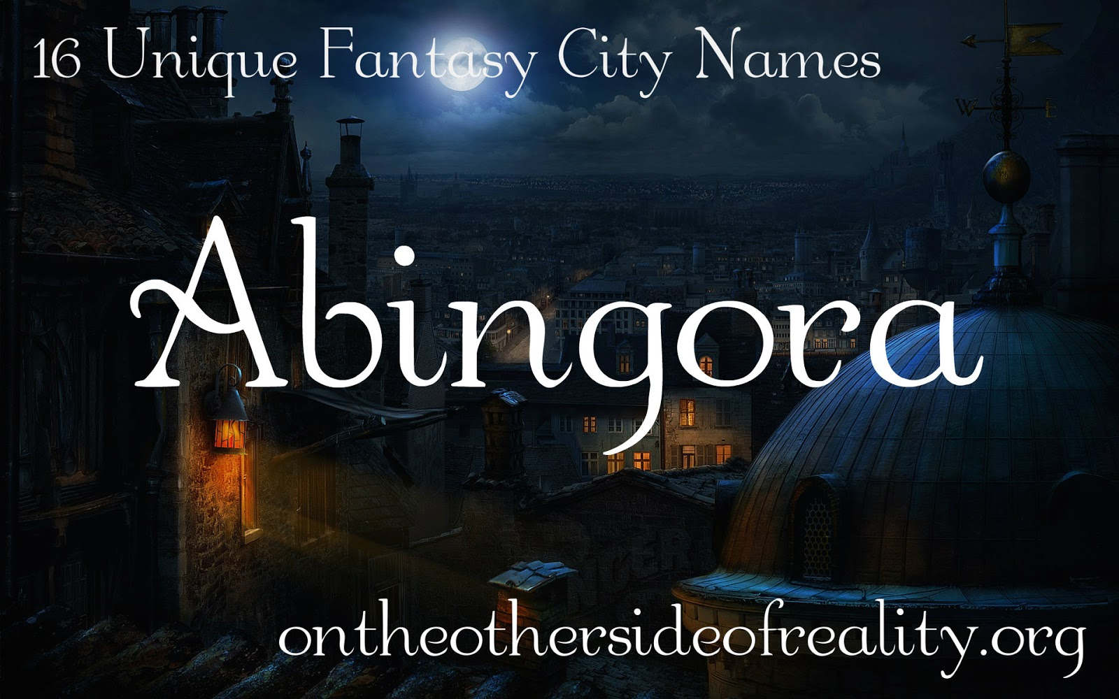 16 Unique Fantasy City Names - On the Other Side of Reality