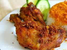 Resep Masakan Ayam Goreng Bumbu Kunyit