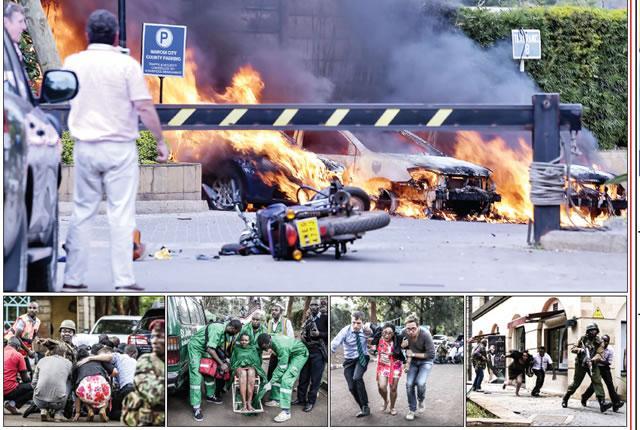 Attack in Kenya Nairobi Hotel