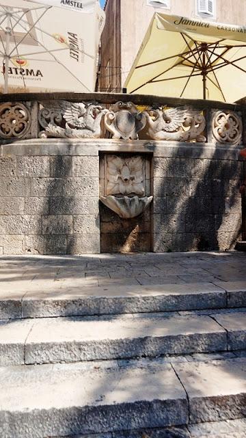 fontanna w chorwacji
