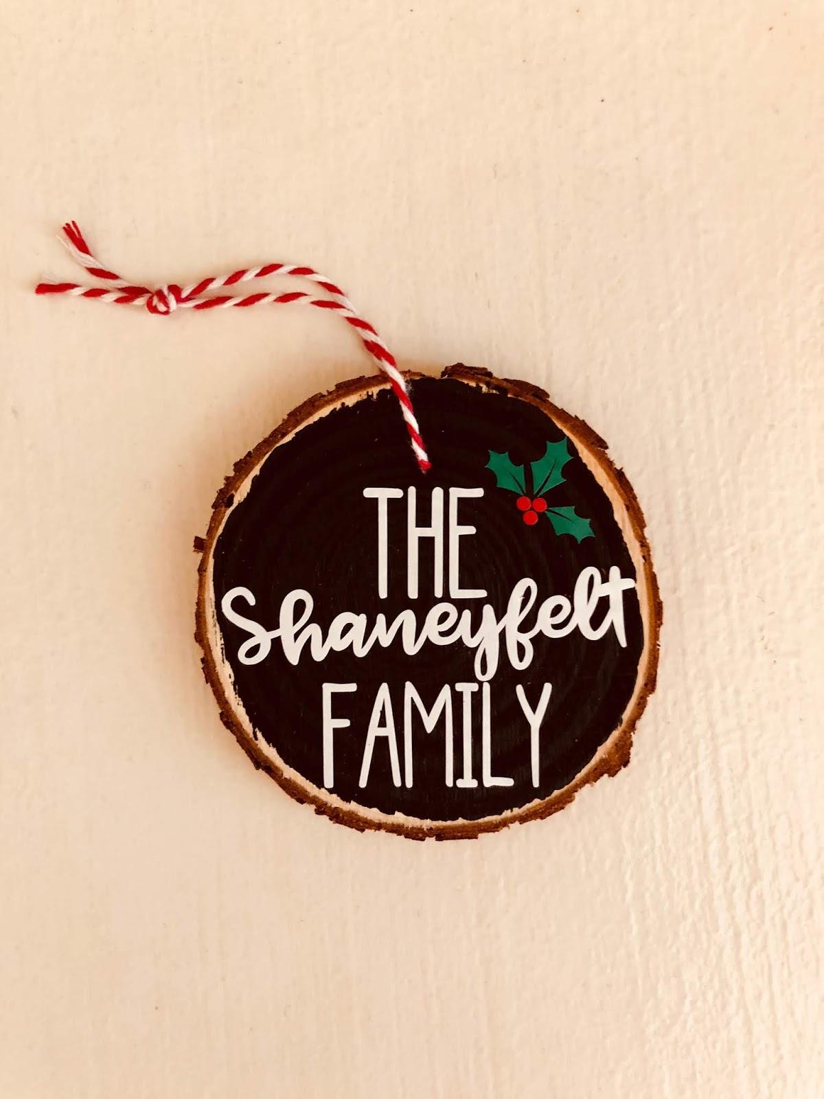 christmas ornament fundraiser