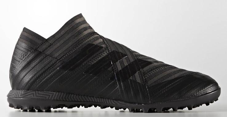 61cb8e77f734 Blackout Adidas Nemeziz Tango 17+ 360Agility Magnetic Storm Boots ...