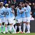 Manchester City venció al Crystal Palace y recuperó la punta