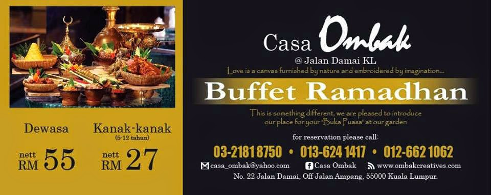 buffet murah sedap, casa ombak, ombak creative, wedding planner, event planner, dekorasi, photo booth, birthday planner