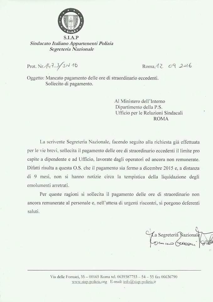 S i a p segreteria provinciale torino pagamento for Limite pagamento contanti 2017