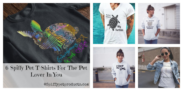 Spiffy Pet T-Shirts For Animal Lovers