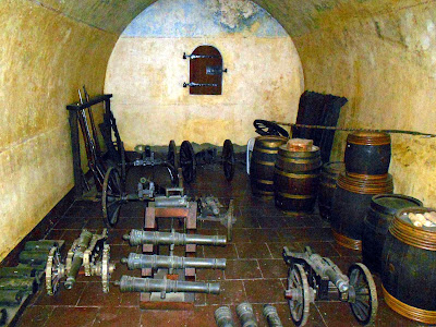 Inside Powder Magazine, Stellenbosch