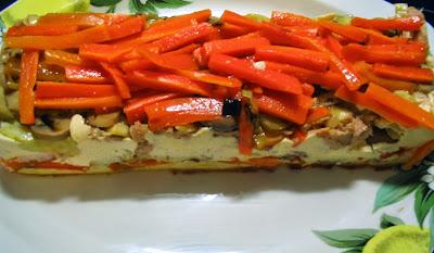 pastel de verduras facil