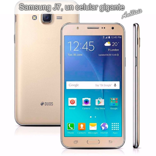 Samsung J7, un celular gigante