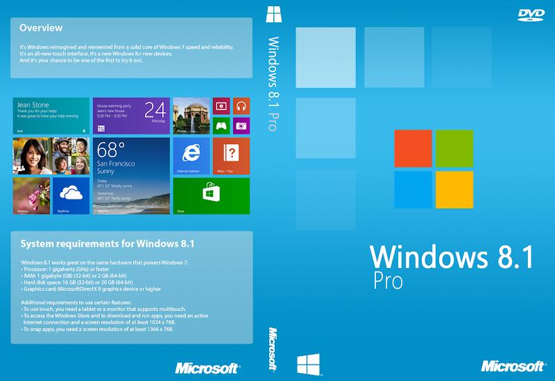 Windows 8.1 Pro ISO 32-64 Bit Download [Direct Links]