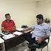 Superintendente da SCTRANS de Cajazeiras, participa de reunião com novo Superintende de Trânsito de Patos