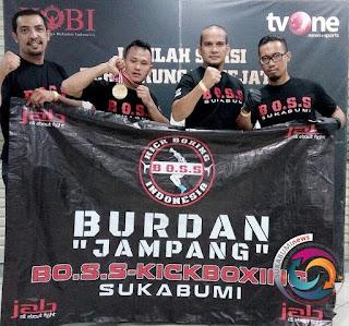 Burdan alias si Jampang, siap mengharumkan nama Kabupaten Sukabumi di kancah pertarungan Mixed Martial Art (MMA) One Pride TV One