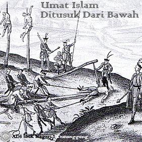 Umat Islam Ditusuk Dari Bawah