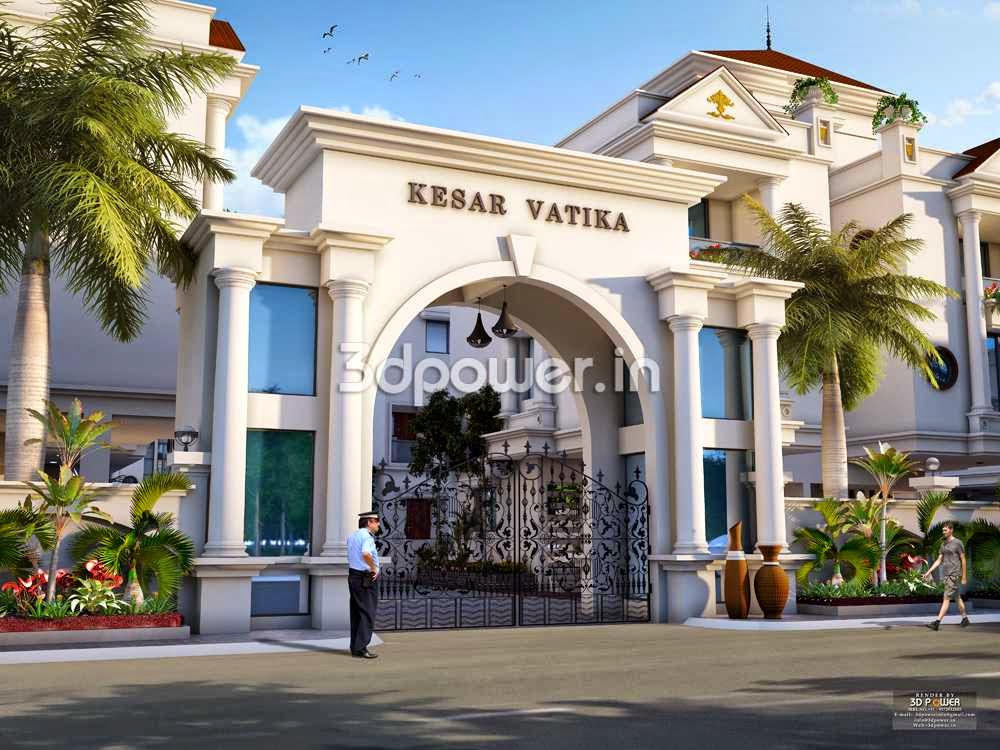 Bungalow Entrance Gate | Architectural of Bungalow Design | High Class ...