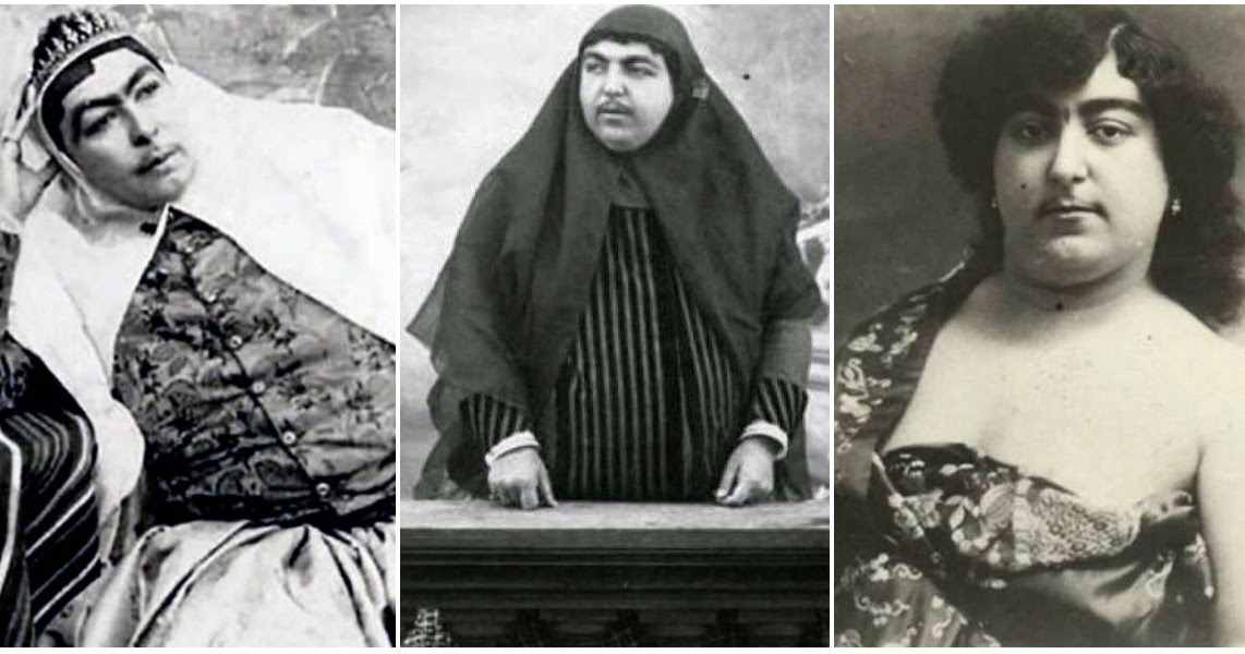 Portraits of Zahra Khanom Tadj es-Saltaneh, the Beauty Symbol of Persia For Whom 13 Men Committed Suicide When She Refused to Marry Them