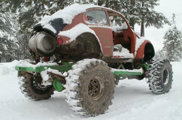 Daily Turismo: Mind Bogger: 1966 Volkswagen Beetle Mudder
