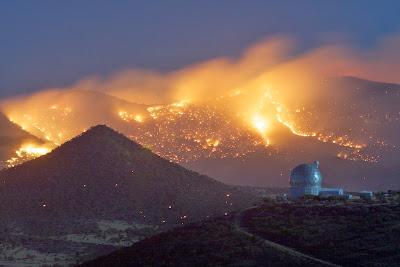Cerro Grande fire near Los Alamos, NM