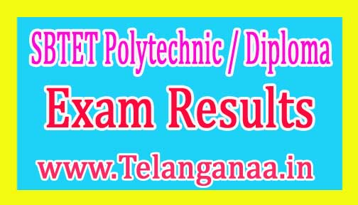 AP SBTET Diploma Polytechnic Regular & Supply Exam Results 2017