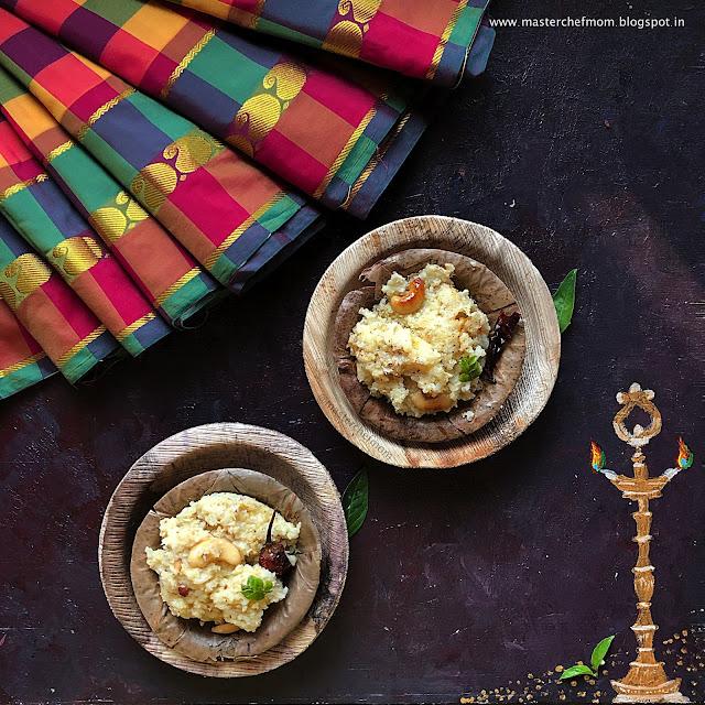 Thengai Pongal | Coconut Pongal