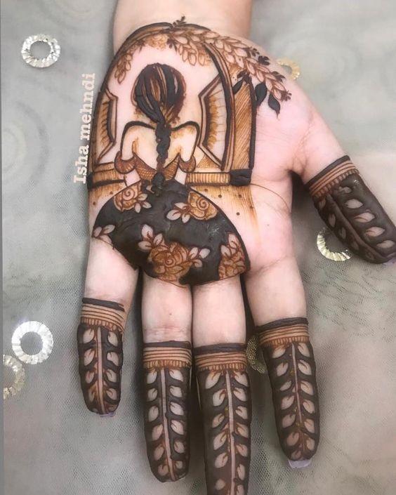 Latest Bridal Mehndi Designs For Full Hands - Dulhan - Wedding - Legs - 2019