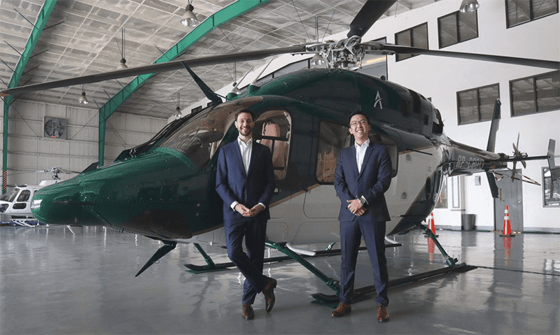 Ascent offers Helicopter ride-sharing to combat Metro Manila's dreadful traffic