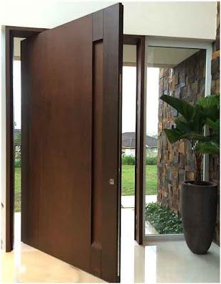 foto pintu minimalis modern kontemporer