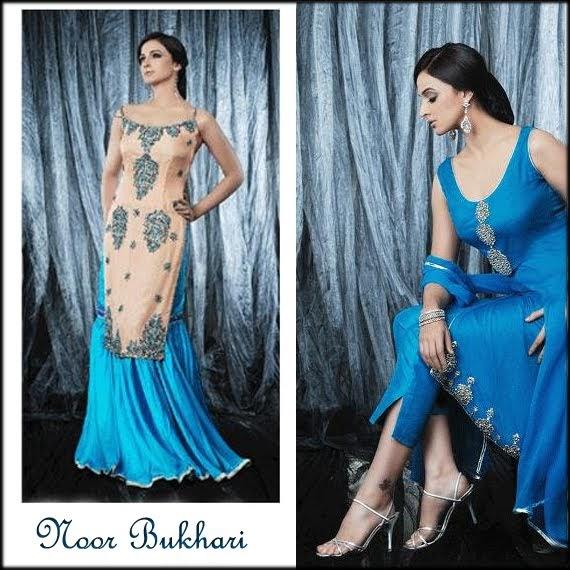 Noor Bukhari Salwar Kameez New Fashion Styles