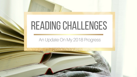 2018 Reading Challenges Update #AtoZReadingChallenge #BeatTheBacklist
