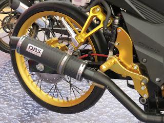 Gambar Modifikasi Honda Sonic 150R