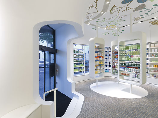 Imagine These: Pharmacy Interior Design | Linden-Apotheke
