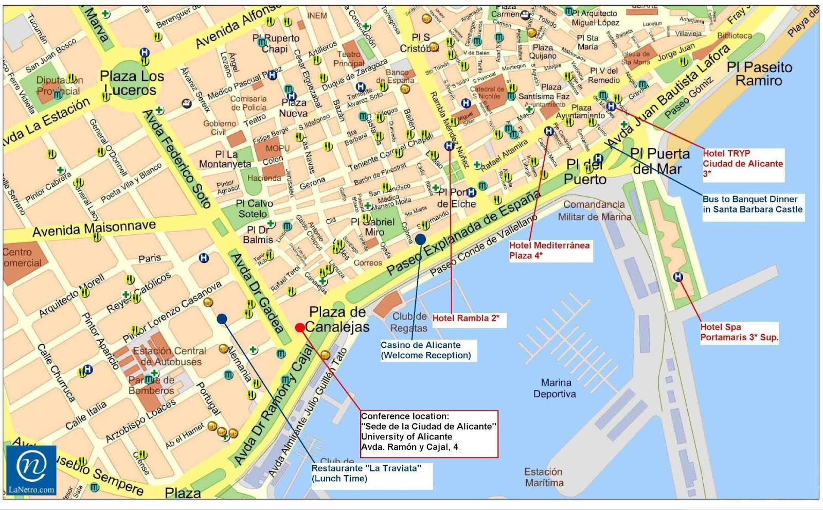 praias espanha mapa Mapas de Alicante   Espanha | MapasBlog praias espanha mapa