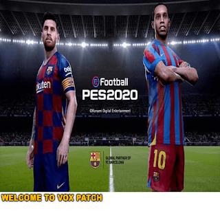 PES6 VOX UPDATE PATCH V4 online 2020