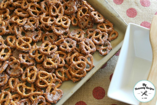 Quick and Easy Cinnamon Pretzels from My Heavenly Recipes