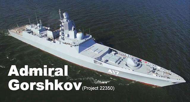 Russian Navy's New Frigate - Admiral Gorshkov (Project 22350) | LaptrinhX