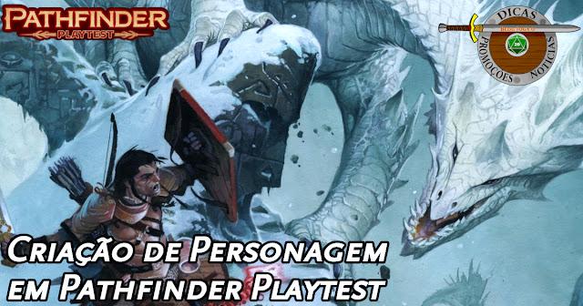 Criação de Personagens Pathfinder 2E