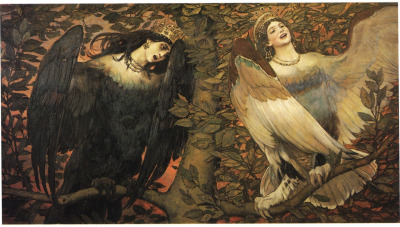 "Sirens ""A Song of Joy and Sorrow"" by Vasnetsov"
