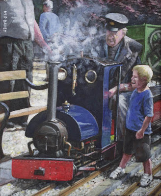 Southampton Bursledon Brickworks narrow gauge railway painting